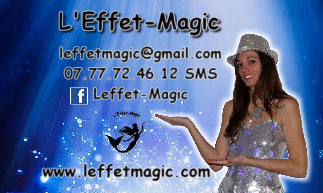 leffet magic carte visit1e